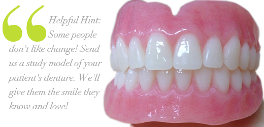 Point. dentures that look natural teeth all can